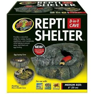 Zoo-Med-Repti-Shelter-3-IN-1-Cave-Medium-8-Inch