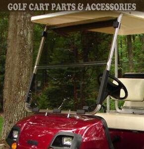 Yamaha G22 Tinted Windshield 2003-'06 Folding Style High Quality Golf Cart Part