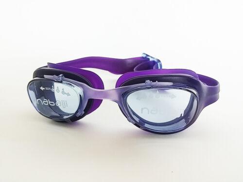 Purple Adult Anti-fog UV Protection Lenses Swim Swimming Goggles