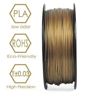 3d Printers & Supplies Sincere Noulei Shiny 3d Printer Filament Pla Silk Black 1.75mm 1kg 2.2lb 1 Spool