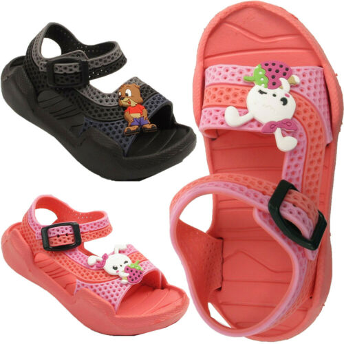 New Kids Girls Infant Boys  Sandals Summer Clogs Beach Slipper Flats Mules Shoes