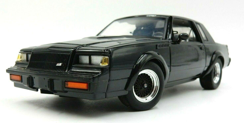 GMP schwarz BUICK GRAND NATIONAL GNX 1 24 SCALE DIECAST CAR  0823 OF 3250 MADE