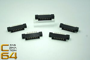Faszination-C64-5x-Tapeport-Kassettenport-Stecker-fuer-Commodore-64-1807