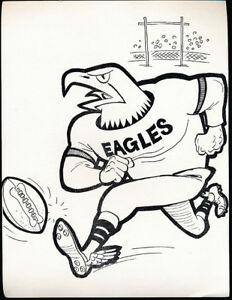 25-1960-039-s-Manny-039-s-Baseball-Land-Team-Caricature-Philadelphia-Eagles