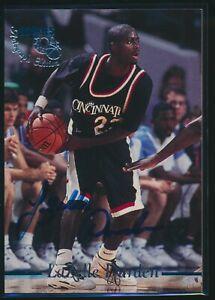 1995-Classic-Rookies-Autographs-Auto-Signed-LaZelle-Durden-Cincinnati-Bearcats