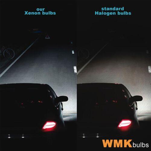 Side//Lo//Hi Beam 501 H7 HB3 Xenon 50/% Headlight Bulbs Vauxhall Zafira A 99-05