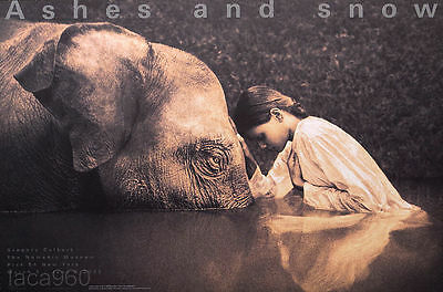 Gregory COLBERT Girl With Elephant Nomadic Museum Poster