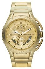 ARMANI EXCHANGE - Men's Gold-Tone Bracelet Gold-Tone Dial Watch - AX1407