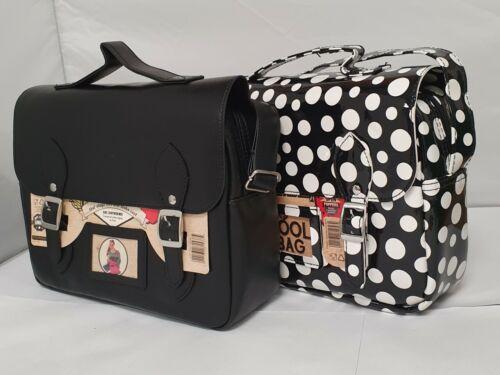 Retro Satchel Lunch Cooler Bag Insulated Cool Work School Adult Shoulder Strap