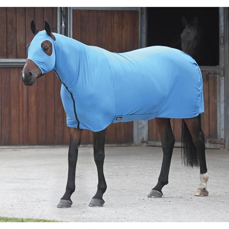 Shires Stretch Body Rug - bluee - Large - BN