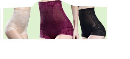 De calidad superior para mujeres Damas Cuerpo Shaping embolsado Control Firme Cintura Alta Bragas