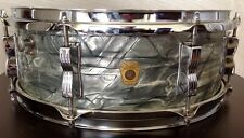 "Ludwig 60s Sky Blue JAZZ FESTIVAL 14"" Snare Drum  + Case-Vintage- USA/ORIGINAL"