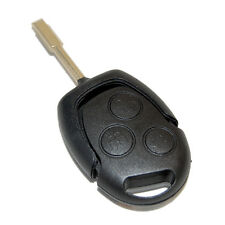 HQRP Carcasa con 3 botones para llave de mando remoto Ford MONDEO 2005 2006 2007