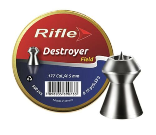 Fusil DESTROYER Champ Pellets Hollow point Air Rifle 177-22 Qté 50-500