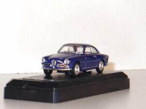 ALFA ROMEO Guilietta Sprint - 1960 - blue - SOLIDO 1:43