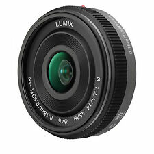 Panasonic Lumix G 14mm F/2.5 ASPH H-HO14E Lens - Silver (White Box)