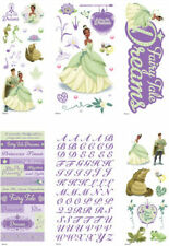 DISNEY TIANA PUFFY Dimensional Stickers EK Success 53-30004 Princess and Frog