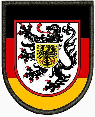 Oberpfalz Wappen Patch Aufbügler,Aufnäher,Deutschland,Pfalz