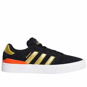 Adidas-Skateboarding-Shoes-Busenitz-Vulc-2-black-gold-NEW-BNIB-EF8470