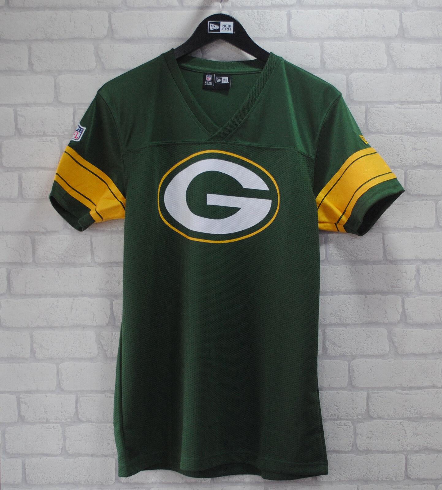 New Era Grünbay Packers Offiziell Fans Football Jersey