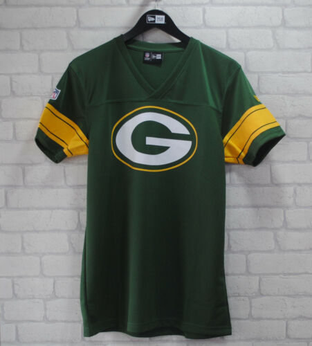 NEW Era Greenbay Packers UFFICIALE sostenitori AMERICAN FOOTBALL JERSEY