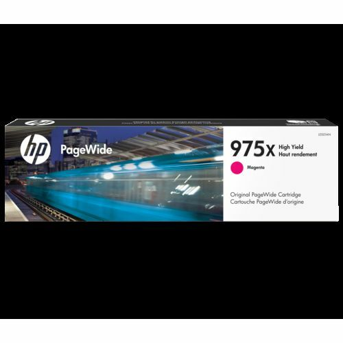 HP Genuine 975X L0S03AA Magenta High Yield Ink PAGEWIDE PRO 477 552 577 7K Pages