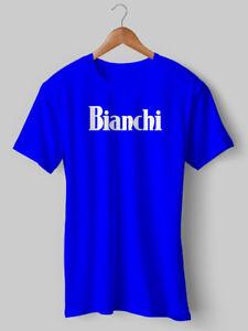 Bianchi T-Shirt Tee Cycling T shirt Vintage Jersey bike bicycle S ... f17468e0c