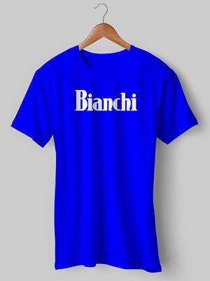 NEW Bianchi T Shirt Vintage Cycling Top hoodie bike Retro jersey Eroica Printed