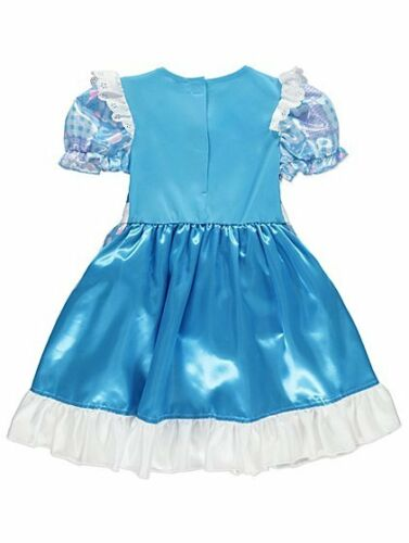 George Disney Alice In Wonderland Fancy Dress Costume Outfit World Book Day