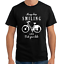 Always-keep-Smiling-and-Ride-your-Bike-Bicycle-Fahrrad-Fun-Sprueche-T-Shirt
