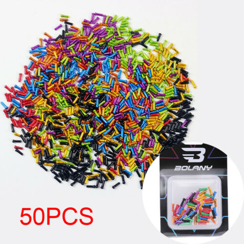 50X Bicycle Bike Brake Shifter Derailleur Inner Cable Tips Wire End Cap Crimp
