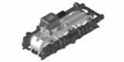 Bogie Kato 4365ZD1 Truck Set WDT205 for Powered Car 516 ASSY N scale