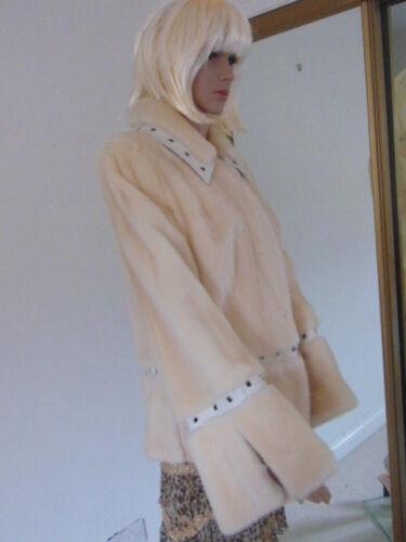 Vison vison Manteau pelzmantel Fourrure Pelliccia manteau fourrure Vison pelz veste de Apwpqtz