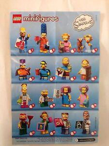 Lego Minifiguren Serie Batman Movie Beipackzettel Übersicht LEGO Baukästen & Sets