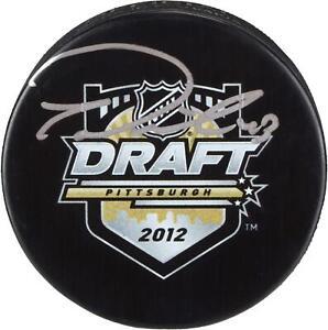 Tom-Wilson-Washington-Capitals-Signed-2012-NHL-Draft-Logo-Hockey-Puck-Fanatics