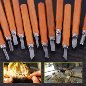 12pcs-Wood-Carving-Chisel-Sculpture-Knife-Gouges-Woodworking-Carpentry-Tool-Set
