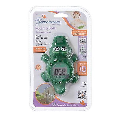 New Dreambaby Bath Room Digital Thermometer Croc Crocodile Baby Safety Dream