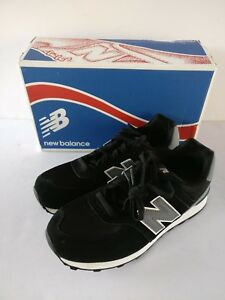f6918e27 Details about NEW | New Balance | Unisex Kids | KL574 Sneaker | Black Grey  | Size 6M