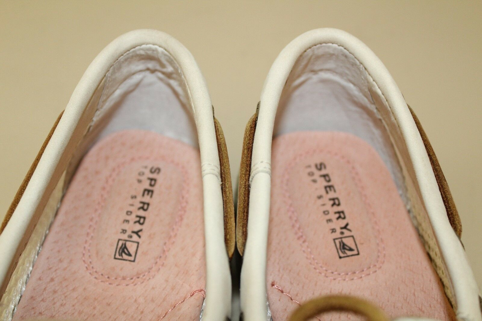 Sperry Top-Sider Donna Shoe Nubuck Sz 7.5 M Mesh Nubuck Shoe Leather Oxfords bianca / Off Wt a8b4b7
