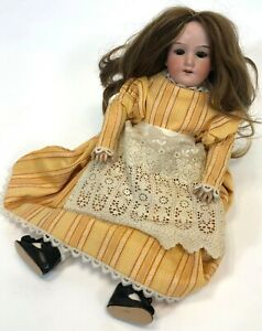 Antique-Armand-Marseille-Germany-390-DRGM-24-G-1-Bisque-Porcelain-16-034-Girl-Doll