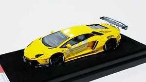 1-64-Lamborghini-Aventador-LP700-Zero-Fighter-LB-Performance-Yellow-ignition-ig