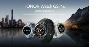 """Honor Watch GS Pro Smart Watch 1.39"""" AMOLED Display 100+ Work Out Modes Global🌏"""