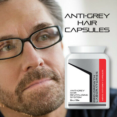 PRO-GROWTH MENS ANTI-GREY PILL STOP GREY HAIR 100% SAFE NATURAL PREVENT  GREY 657202604   eBay