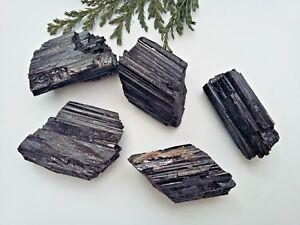 1 x  Black Tourmaline Schorl Natural Crystal Specimen - 20-30mm