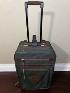 ORVIS-Vintage-Battenkill-Carry-On-Rolling-Luggage-Travel-Canvas-Sport-Fishing