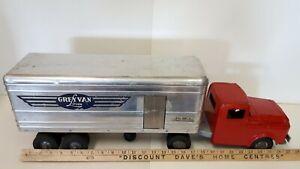 1950-039-s-WYANDOTTE-034-Grey-Van-Lines-034-Transport-Truck-Nice-Original-Condition