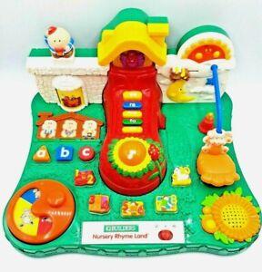 Rare-IQ-BUILDERS-Nursery-Rhyme-Land-Vintage-Toy-Retro-Learning-Preschool-Vintage