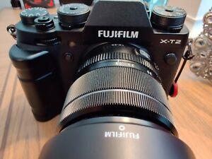 Fuji Fujifilm X-T2 Digital SLR Camera - Black w/ Accessories & 3 Batteries