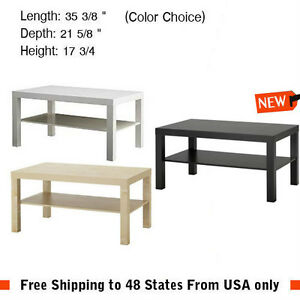 Image Is Loading Side Coffee Table Black Brown Birch White Laptop