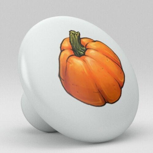 Pumpkin Vegetable Ceramic Knobs Pulls Kitchen Drawer Cabinet Vanity Closet 606